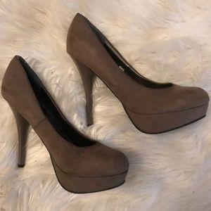 💎suede heels